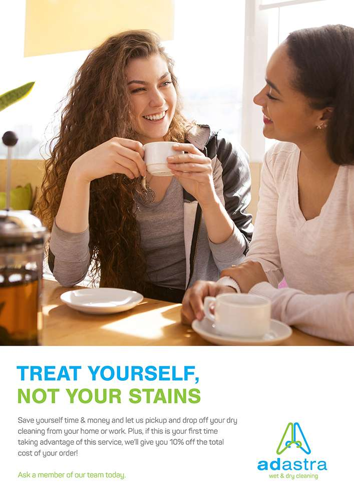 Women Drinking - Treat Yourself, Not Your Stains - Ad Astra Wet & Dry Cleaning Perth