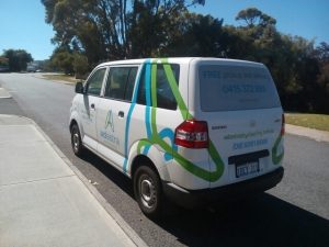 Home Delivery Van of Ad Astra Wet & Dry Cleaning in Perth